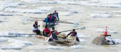 La course du Défi des glaces de Rimouski