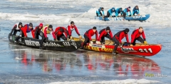 Course de canot à glace de Portneuf